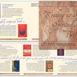 Brochure design in Santa Fe New Mexico