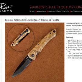 Ceramic Knives E-Commerce Website