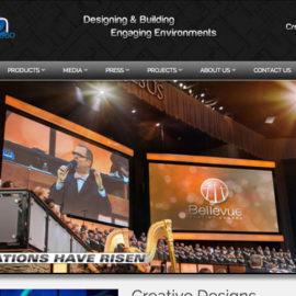 Auditorium Design Firm Website