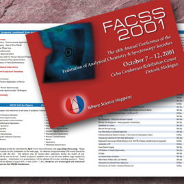 Science brochure design Santa Fe